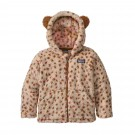 Hanorac Copii Patagonia Baby Furry Friends Hoody Dear Dear: Tuber Tan (Multicolor)