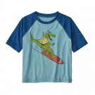 Tricou Casual Copii Patagonia Baby Capilene Cool Daily T-Shirt Multicolor