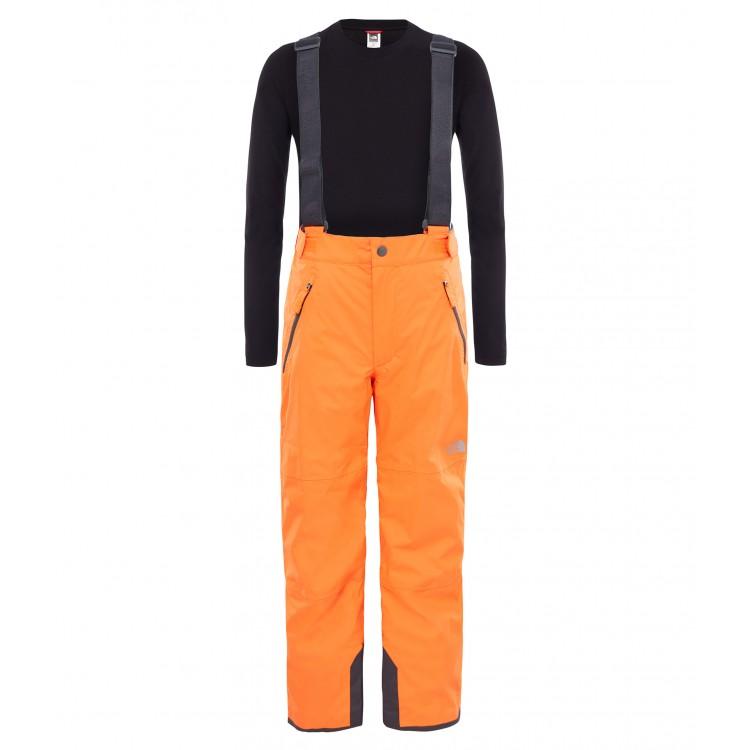 Pantaloni Schi The North Face Snowquest Suspender Plus Y Portocaliu 5519f6797cef