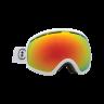 Ochelari schi si snowboard Electric EG2 Gloss White Brose/ Red Chrome + Light Green