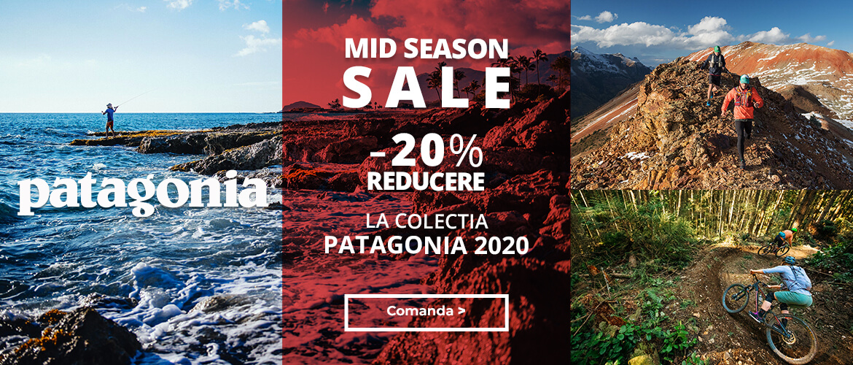 Summerm SaLe la echipamentele pentru alergare, drumetie si oras Patagonia 2020