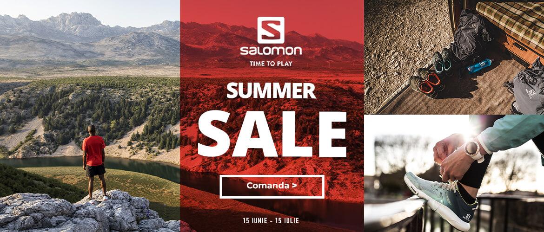 Summerm SaLe la echipamentele pentru alergare, drumetie si oras Salomon 2020