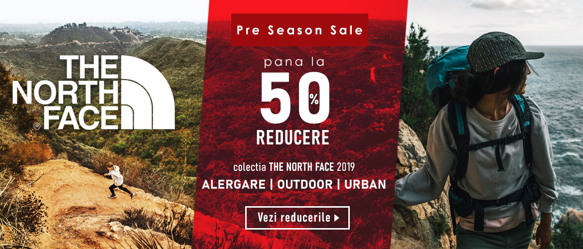 Pana la -50% Reducere the noth face