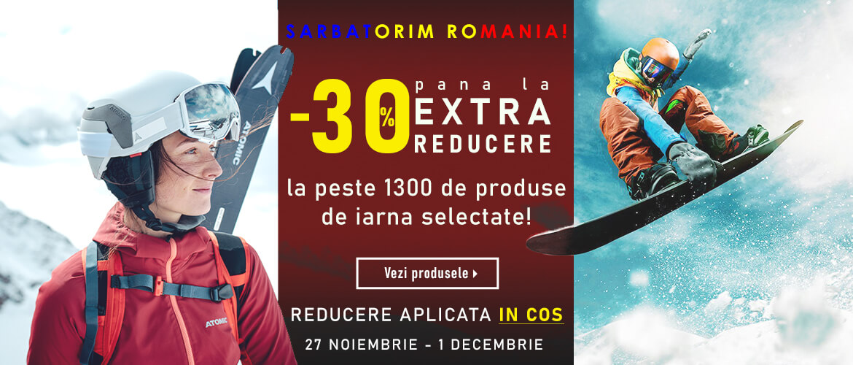 Sarbatorim Romania / pana la -30% reducere in cosul de cumparaturi la produse selectate - Wintermag.ro