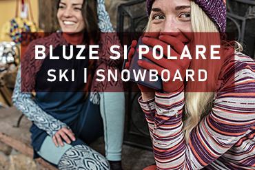 Polare - bluze - midlayer cu confort termic pentru iarna