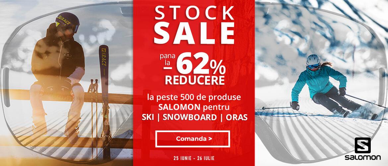 Pana la -62% la echipamentele pentru schi, snowboard si oras de la Salomon