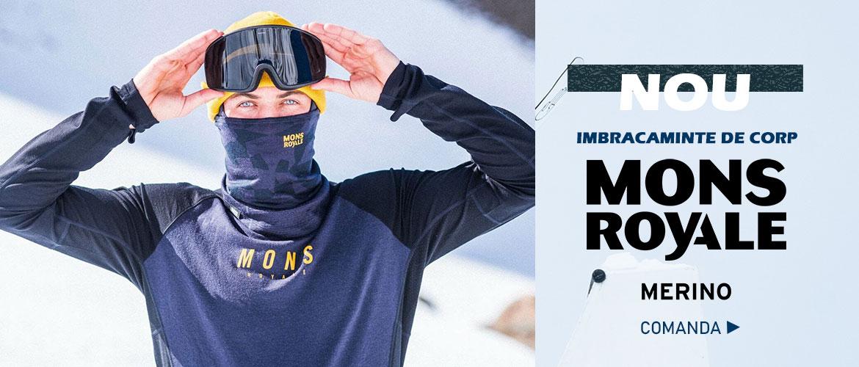 Noua colectie Mons Royale - Wintermag.ro