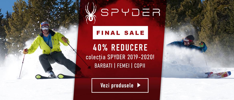 reduceri finale la geci, pantalini si echipamente schi/ski spyder pentru barbati, femei si copii