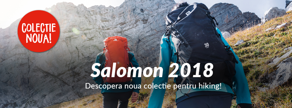 Colectia de hiking Salomon 2018